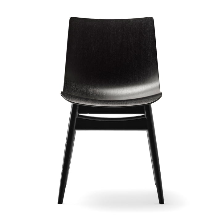 Carl Hansen - BA001T Preludia Chair in Black Lacquered Beech