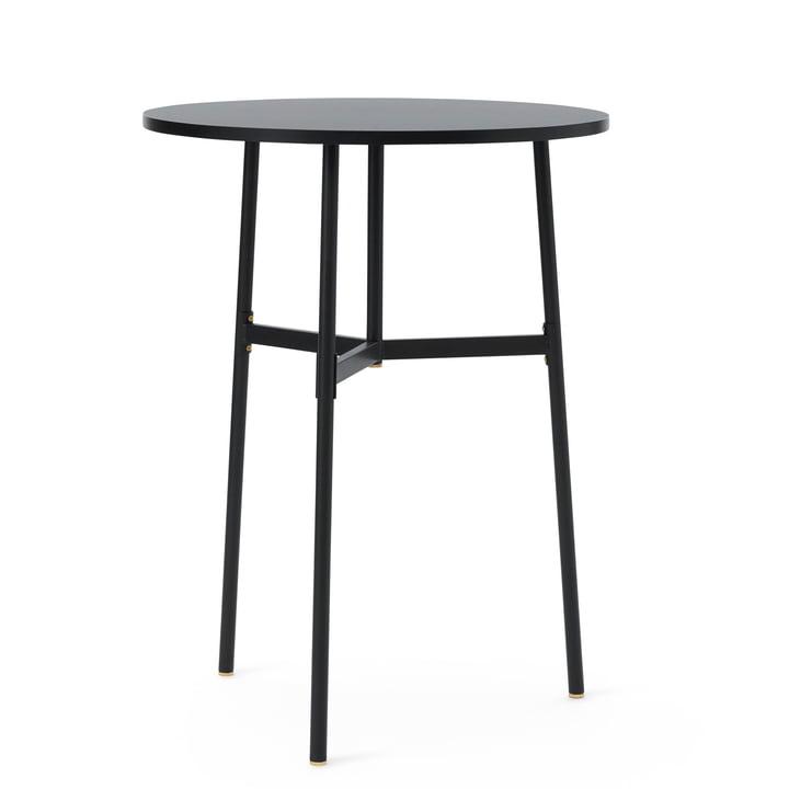 Normann Copenhagen - Union Bar Table, Ø 80 x H 105.5 cm, black