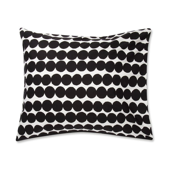 The Marimekko - Räsymatto pillow case 65 x 65 cm in black / white