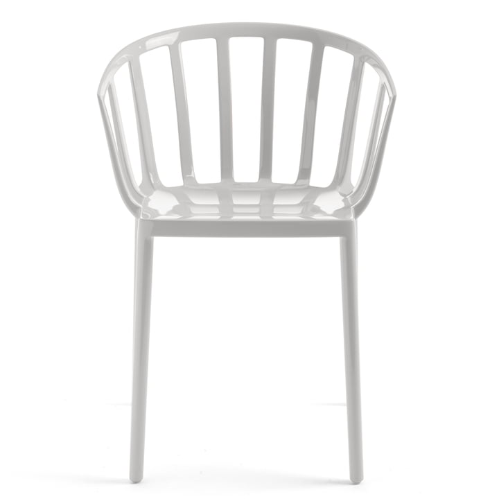 The Kartell - Venice chair in white