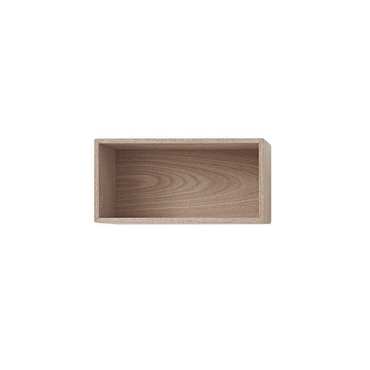 Muuto - Mini Stacked Shelf module 2. 0, small / oak