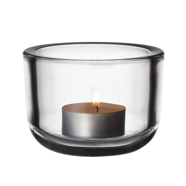 The Iittala - Valkea tealight holder 60 mm, clear