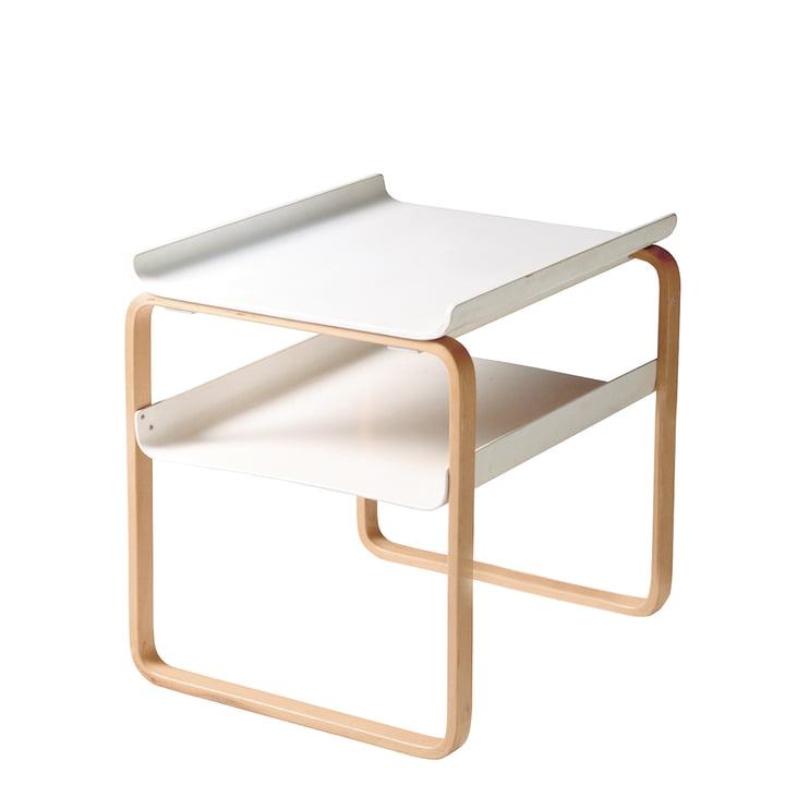 Artek - Side Table 915, birch / white