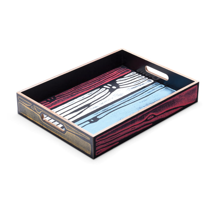 Established & Sons- Wrongwoods Tray, multicoloured