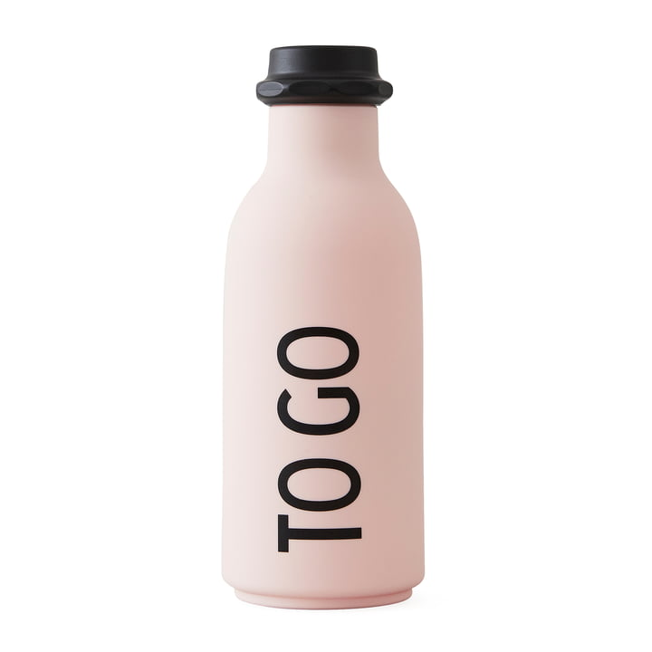 Design Letters - To Go Bottle in Pink