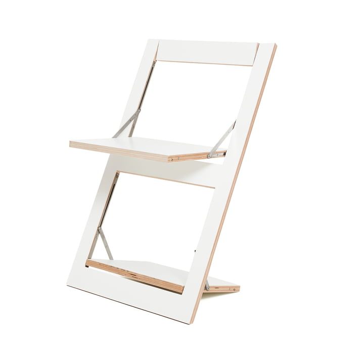 Ambivalenz - Fläpps Folding Chair, white