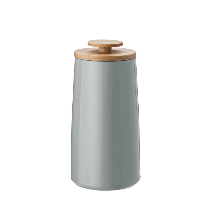 Stelton - Emma tea tin / storage box in grey
