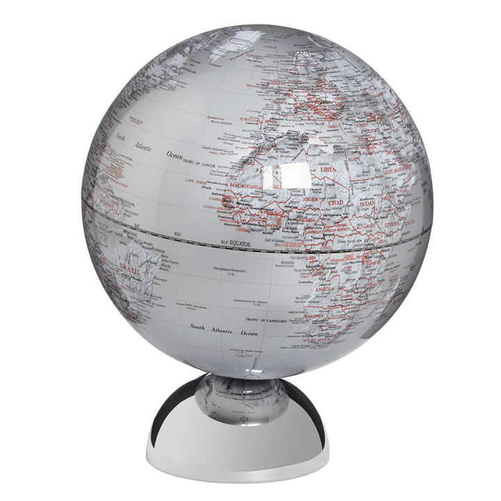 emform - Table Globe Andromeda, silver