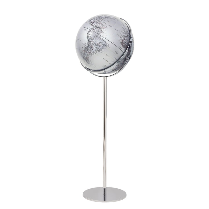 emform - Floor Globe Apollo, silver