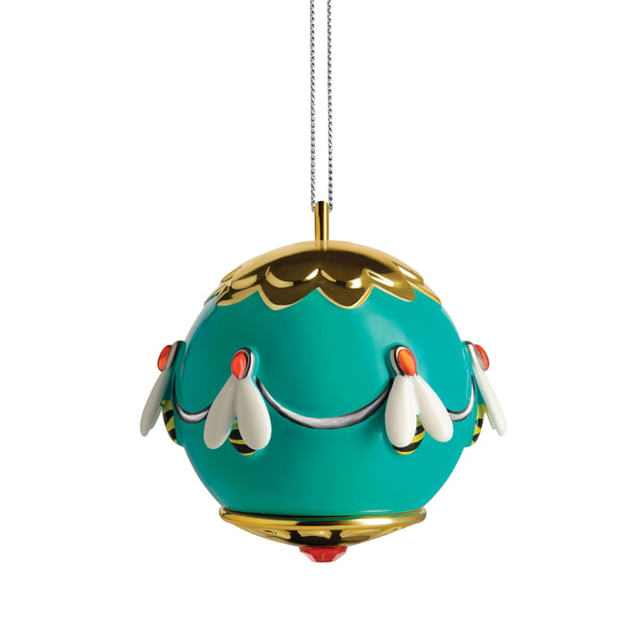 The Alessi - Fleurs de Jori deco ball, Ape dell'oro (MJ16 5)