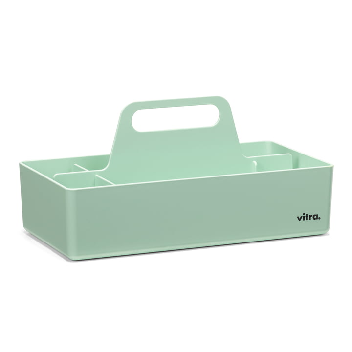 Mint-colored Storage Toolbox from Vitra