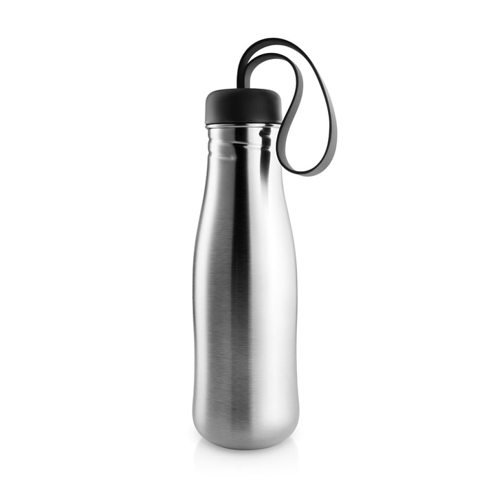 Eva Solo - Active water bottle 0.7 l, stainless steel / black