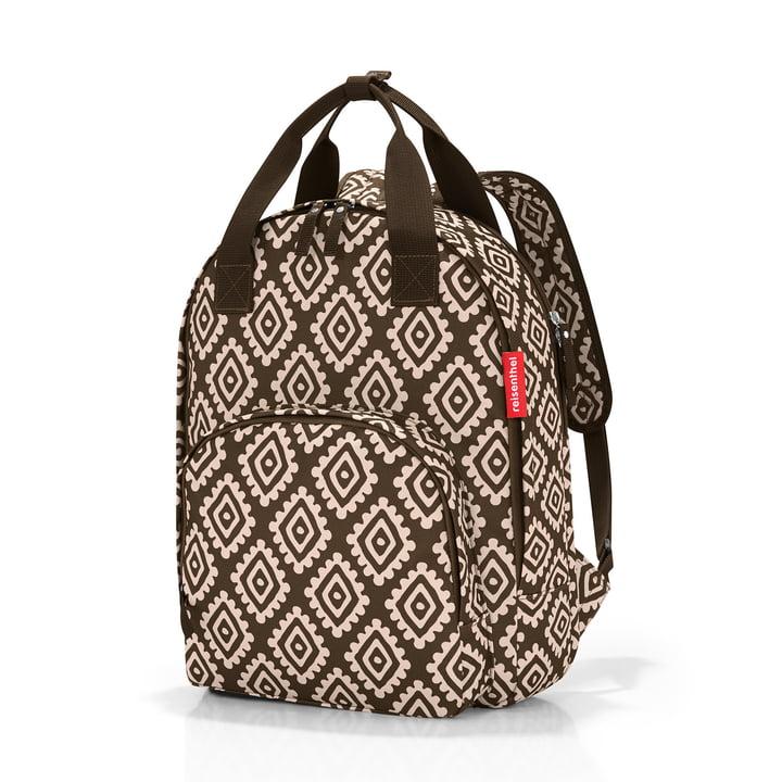 reisenthel - easyfitbag Backpack, mocha diamonds