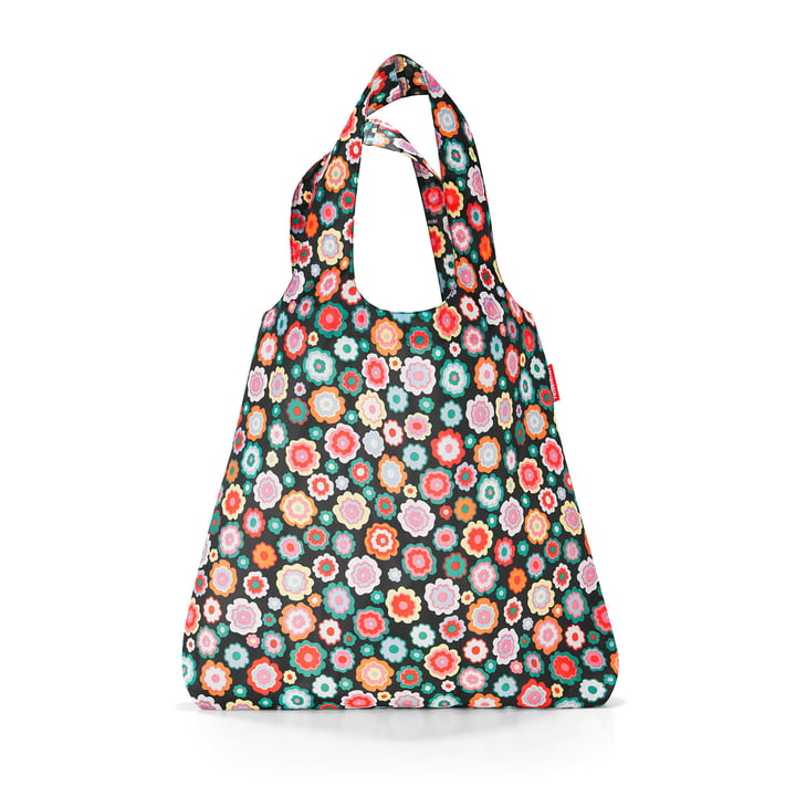 reisenthel shopper with flower print Happy Flowers