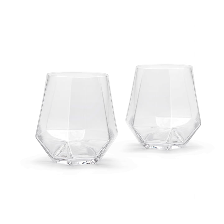 Puik - Radiant Drinking Glass 300 ml, clear (set of 2)