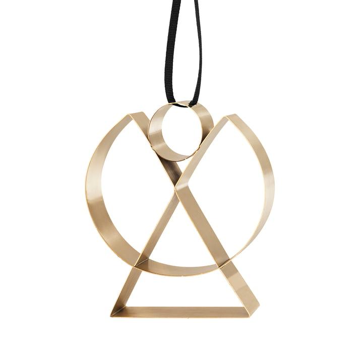 Stelton - Figura Ornament, Angel, brass / large
