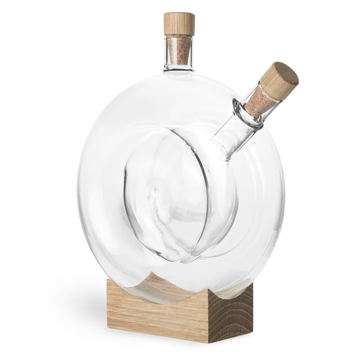 Mater - Double Bottle, oak / clear