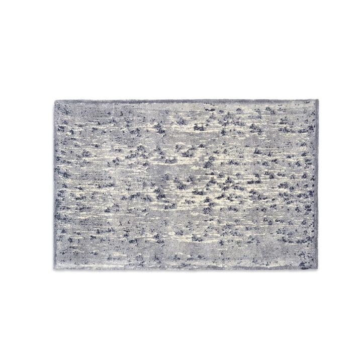 Mater - Info Rug IR02 A New Dam, 240 x 170 cm, dark grey / silver / taupe / ecru