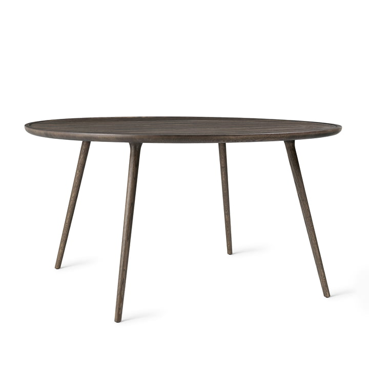 Mater - Accent Dining Table, Ø 140 x H 73 cm, sirka grey