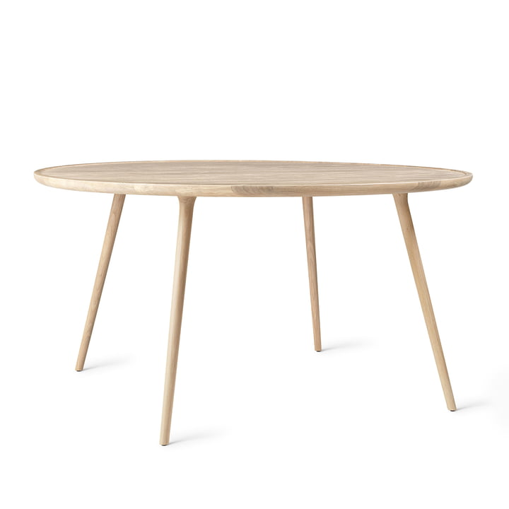 Mater - Accent Dining Table, Ø 140 x H 73 cm, oak