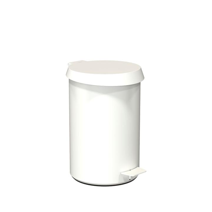 Pedal Bin 350 by Frost in White