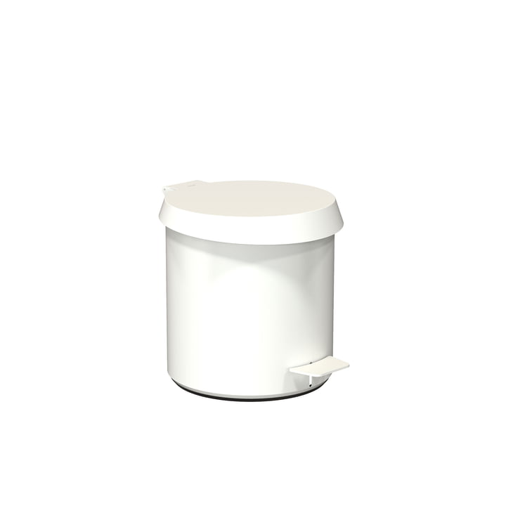 Pedal bucket 250 in white from Frost