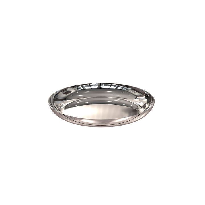 Bowl 170 in Polished Stainless Steel by Frost