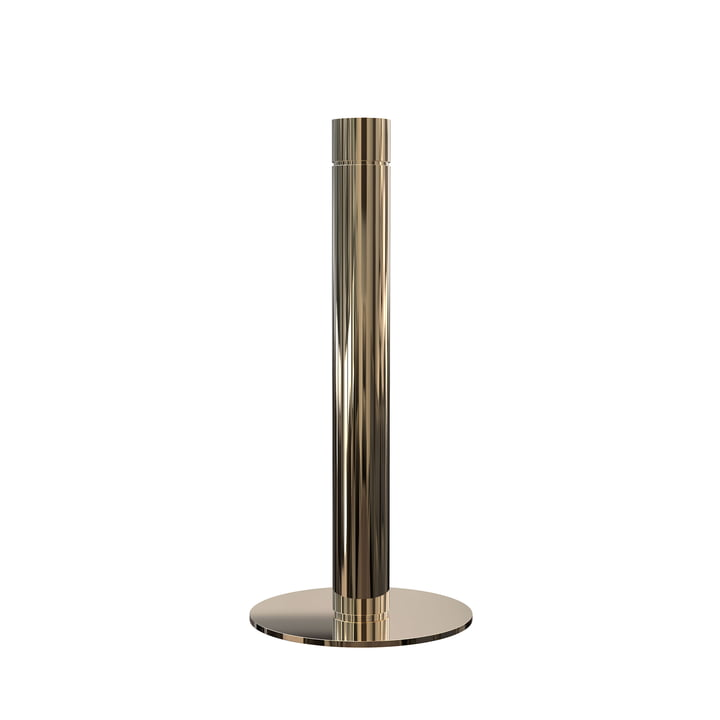 Kitchen Roll Holder H 27.5 cm in Gold by Frost