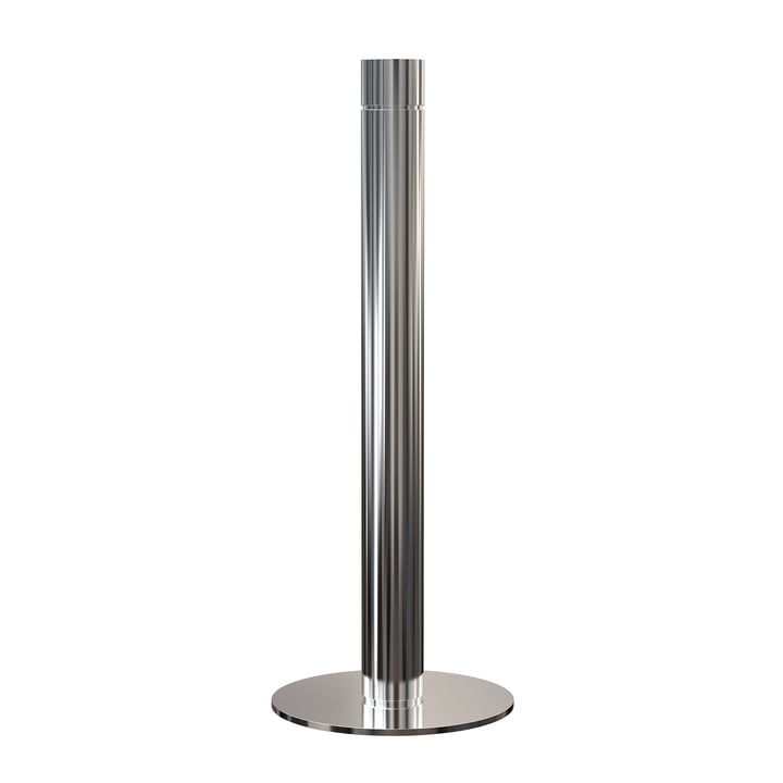 Kitchen Roll Holder H 32.5 cm in Polished Stainless Steel by Frost