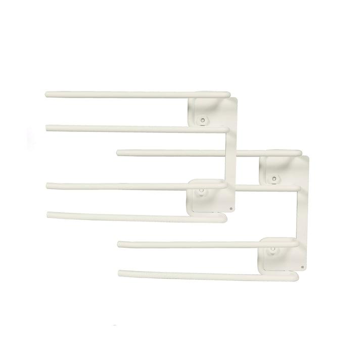String - Hanger Rack module for wine glasses, 16 x 20 cm, white (set of 2)