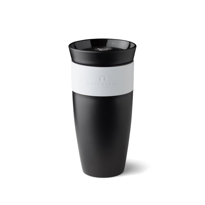 Grand Cru To Go Thermo Mug 28 cl by Rosendahl in black / white