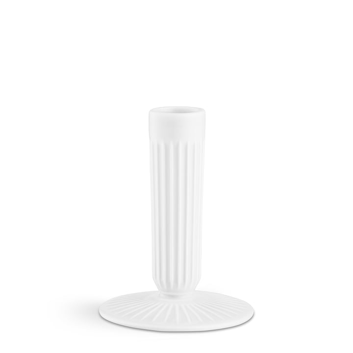 The Kähler Design - Hammershøi Candleholder H 12 cm, White