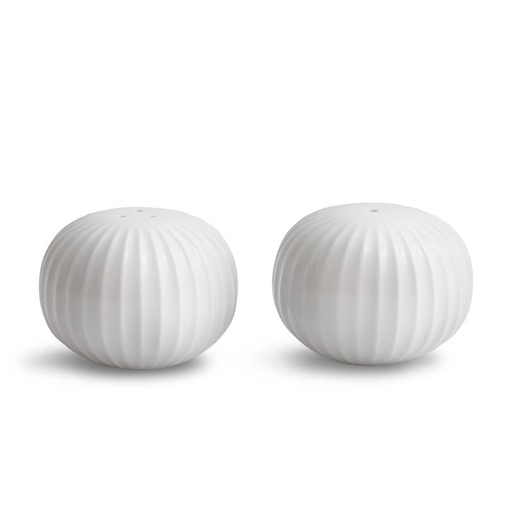 The Kähler Design - Hammershøi Salt and pepper shaker set, white (2 pcs.)