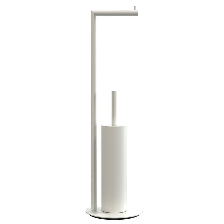 Nova 2 Toilet Paper Holder and Toilet Brush, Freestanding, Gold