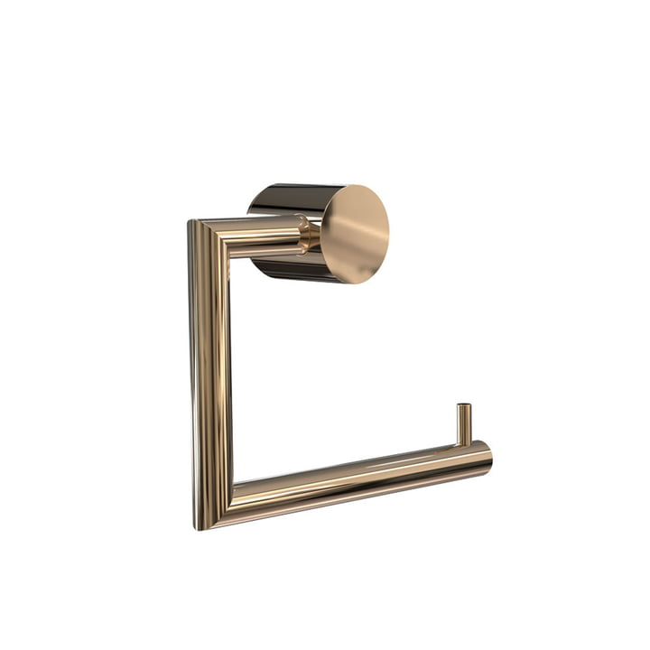 Nova 2 Toilet Toll Holder by Frost in Gold