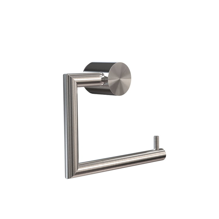 Nova 2 Toilet Paper Holder in Brushed Stainless Steel by Frost