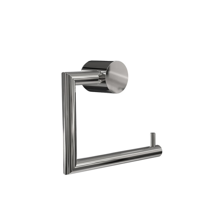 Nova 2 Toilet Paper Holder in Polished Stainless Steel by Frost