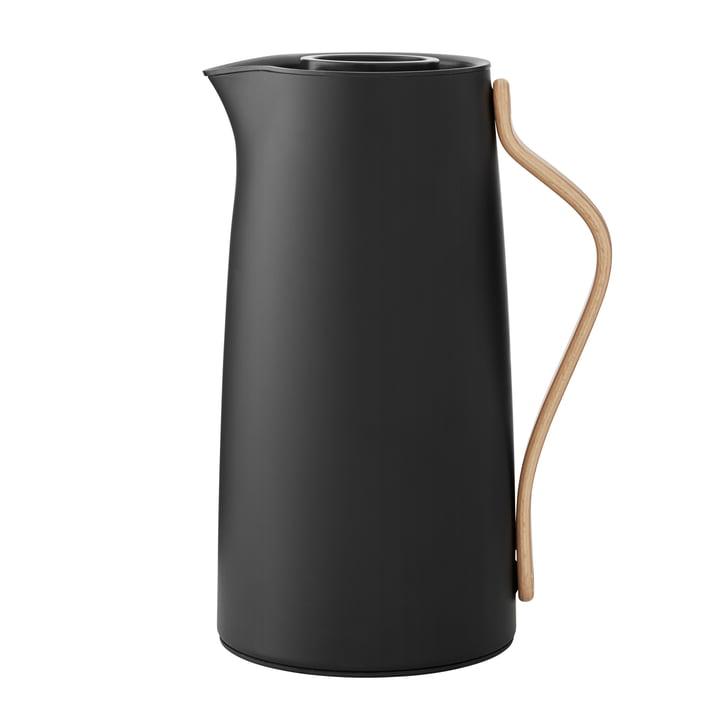 Emma vacuum jug coffee 1,2 l from Stelton in matt black