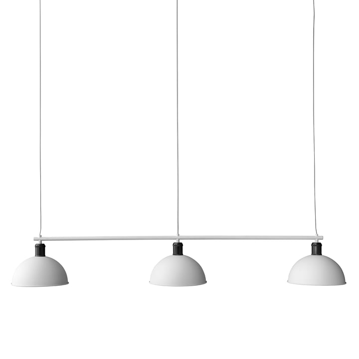 Hubert Suspension Frame pendant lamp from Menu bronze / ivory