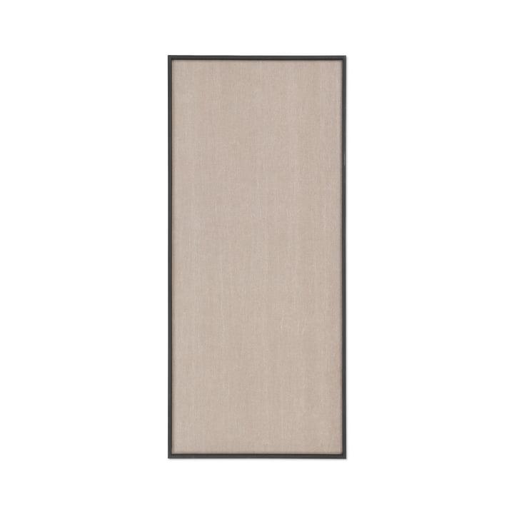 Scenery Pinboard 45 x 100 cm by ferm Living in black / beige