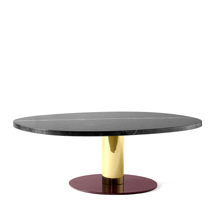 Mezcla JH21 coffee table by &tradition - 90 x 120 cm, black marble