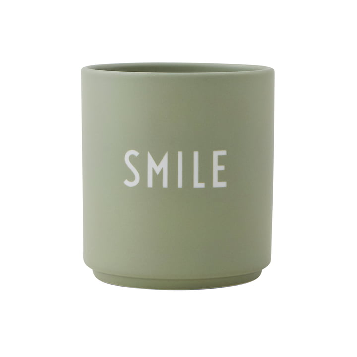 AJ Favourite porcelain mug Smile by Design Letters