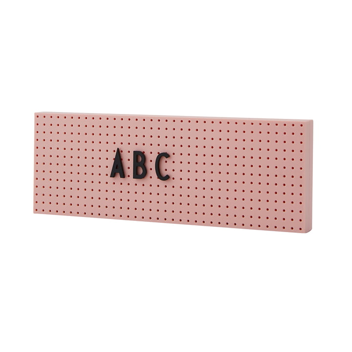 The Sign News board small from Design Letters in pink