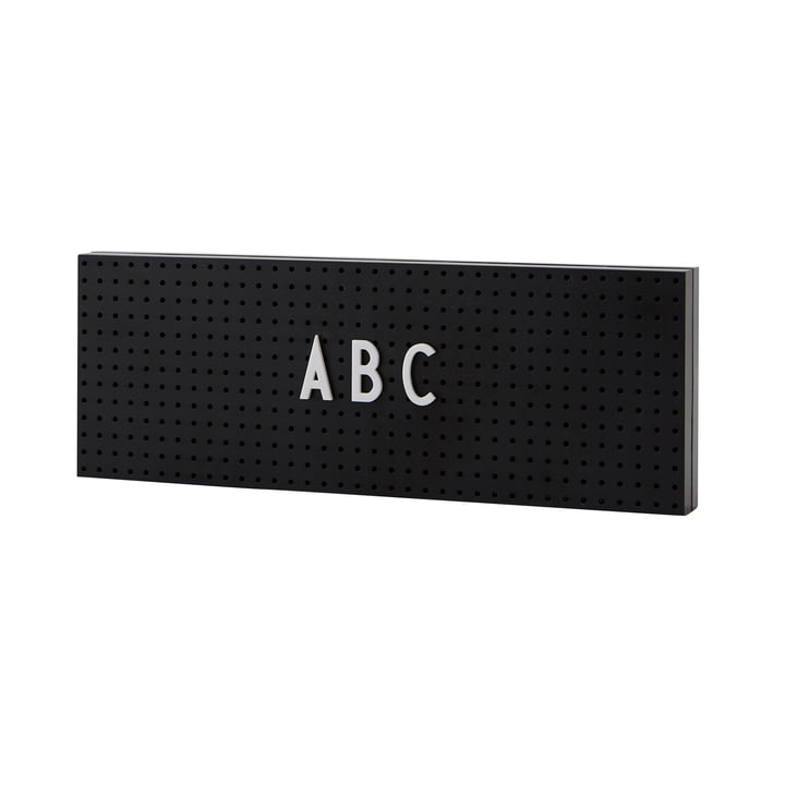 The Sign Message board small from Design Letters in black