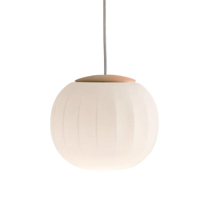 Lita Pendant Lamp by Luceplan in ash, Ø 30 cm