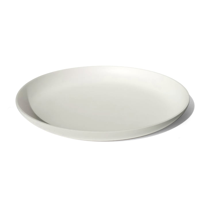 white tray made of high-quality Corian with 40 cm diameter