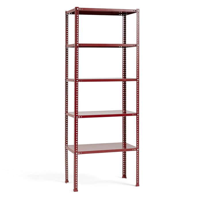 Shelving Unit by Hay in Burgundy