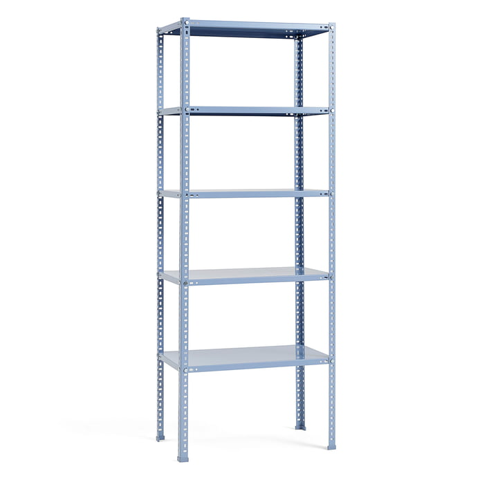 Shelving unit by Hay in Dusty Blue