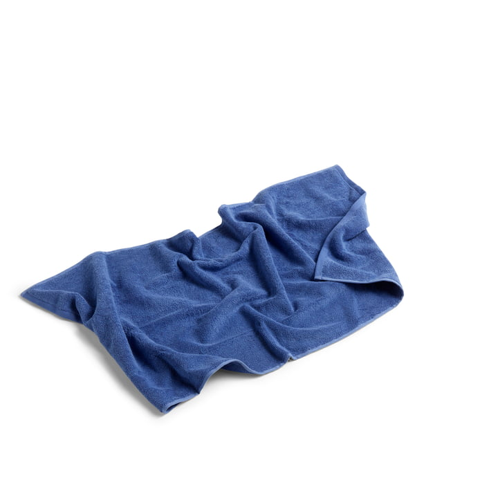 Frotté Towel, 100 x 50 cm by Hay in Blue
