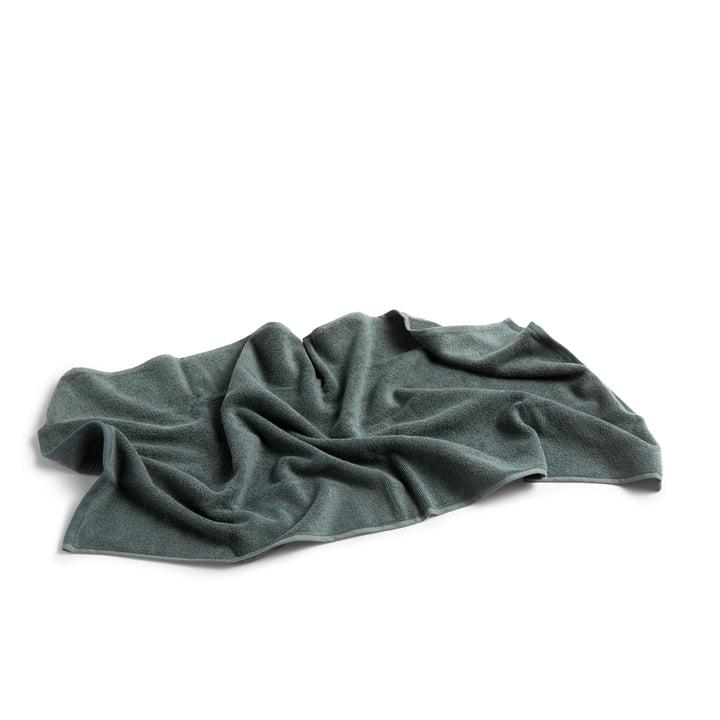 Frotté Towel, 100 x 50 cm by Hay in Dark Green